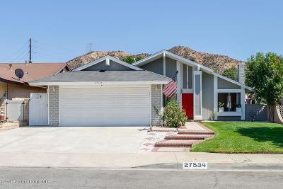 Santa Clarita Single Family Home For Sale: 27534 Raindance Place