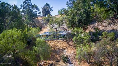 Sunland Single Family Home For Sale: 7871 Denivelle Road