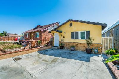 Los Angeles Single Family Home For Sale: 10528 Gorman Avenue