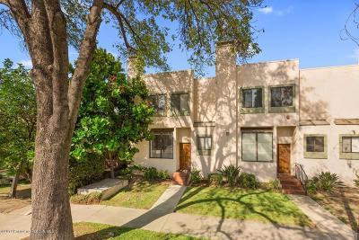 Pasadena Condo/Townhouse For Sale: 657 South Marengo Avenue #1
