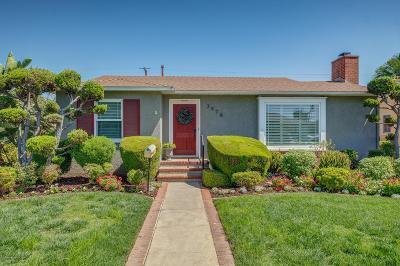 Long Beach Single Family Home For Sale: 3978 Gardenia Avenue