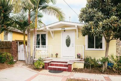 Pasadena Single Family Home For Sale: 1908 El Sereno Avenue