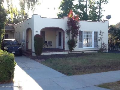Los Angeles County Single Family Home For Sale: 140 South Greenwood Avenue