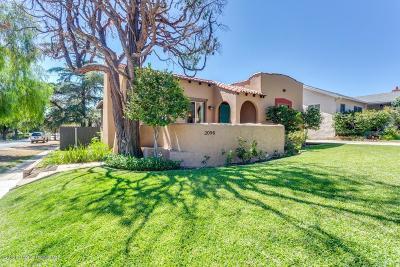 Pasadena Single Family Home For Sale: 2098 Layton Street