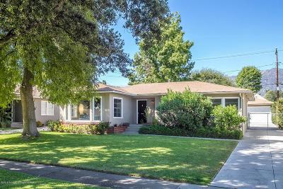 Pasadena Single Family Home For Sale: 2215 Monte Vista Street