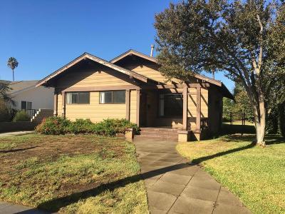 Pasadena Single Family Home For Sale: 181 South Berkeley Avenue