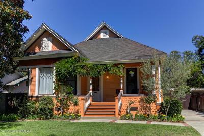 Pasadena Single Family Home For Sale: 669 East Villa Street