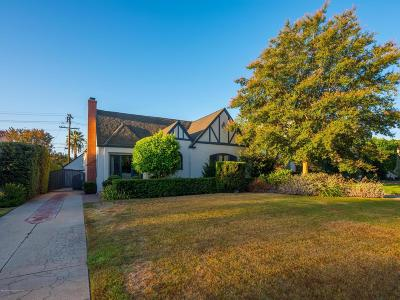 Pasadena Single Family Home For Sale: 2100 Las Lunas Street