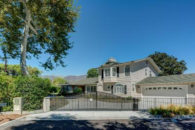 Pasadena Single Family Home For Sale: 510 Michigan Boulevard