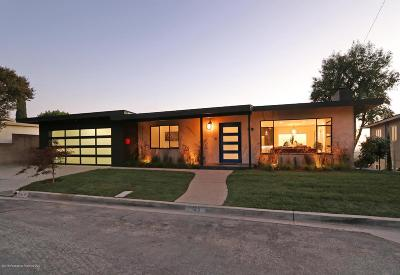 Pasadena Single Family Home For Sale: 125 Sequoia Drive