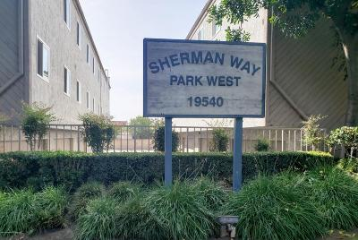 Reseda Condo/Townhouse For Sale: 19540 Sherman Way #601