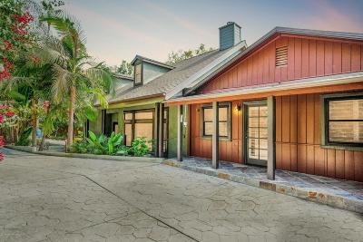 Sunland Single Family Home For Sale: 7850 Denivelle Road