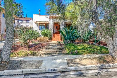 Los Angeles Single Family Home For Sale: 5307 Oakland Street