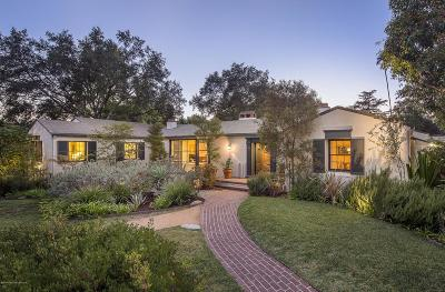Altadena Single Family Home For Sale: 1905 Midlothian Drive