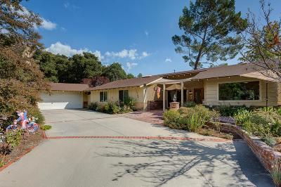Los Angeles County Single Family Home For Sale: 2304 Pickens Canyon Road