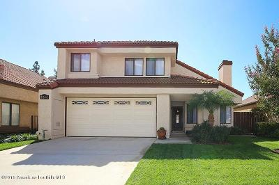 Simi Valley Single Family Home For Sale: 2264 Oak Haven Avenue