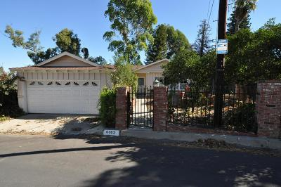 Los Angeles CA Single Family Home For Sale: $725,000