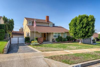 Burbank Single Family Home For Sale: 1813 Hilton Drive
