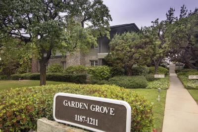 Pasadena Condo/Townhouse For Sale: 1205 South Orange Grove Boulevard