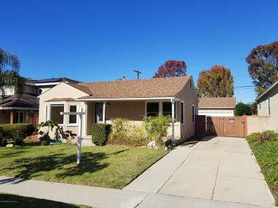 Culver City CA Single Family Home For Sale: $1,110,000