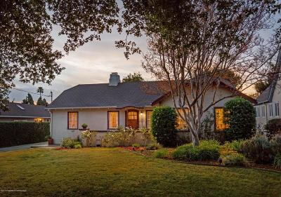 Los Angeles County Single Family Home For Sale: 873 North Holliston Avenue