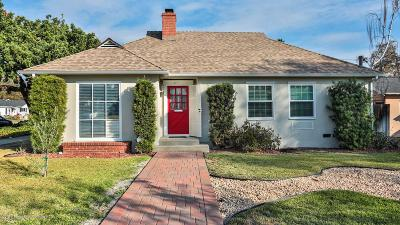 Pasadena Single Family Home For Sale: 450 North Sunnyslope Avenue
