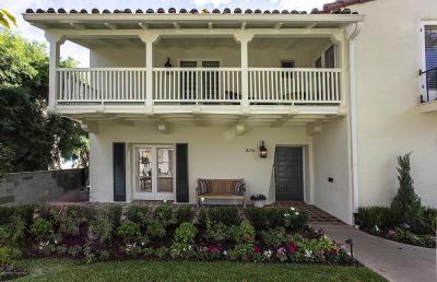 San Marino Single Family Home For Sale: 2784 Fleur Drive