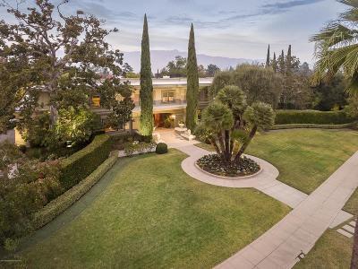 Pasadena Single Family Home For Sale: 1166 Hillcrest Avenue