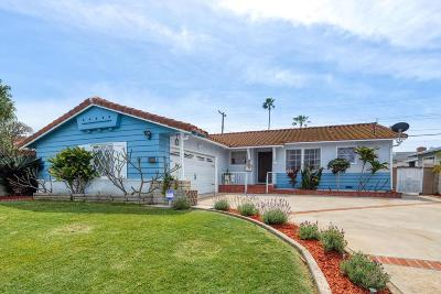 Whittier Single Family Home For Sale: 15514 Leffingwell Road