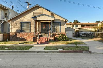 Alhambra Single Family Home Active Under Contract: 1509 Larch Street