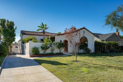 Pasadena Single Family Home For Sale: 2160 Loma Vista Street