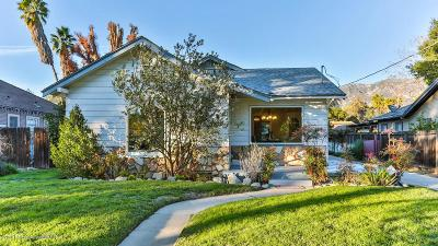 Pasadena Single Family Home For Sale: 369 East Elizabeth Street