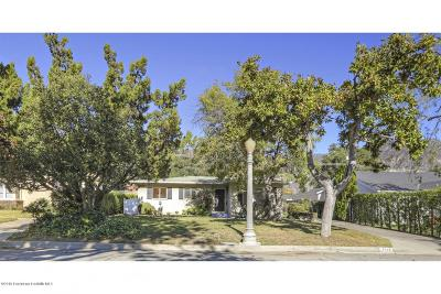 Pasadena Single Family Home For Sale: 2245 East Woodlyn Road