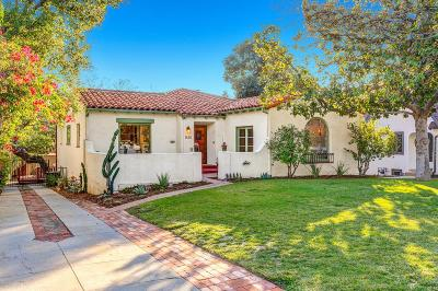 Pasadena Single Family Home For Sale: 1630 Casa Grande Street