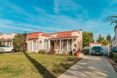 Pasadena Single Family Home For Sale: 1440 Bresee Avenue
