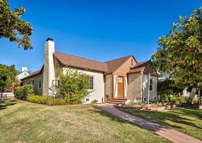 Pasadena Single Family Home Active Under Contract: 1949 Paloma Street
