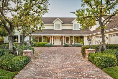 Westlake Village Single Family Home For Sale: 4147 Oak Place Drive