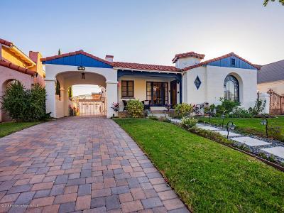 Glendale Single Family Home For Sale: 816 Burchett Street