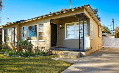 Altadena Single Family Home For Sale: 1775 Coolidge Avenue