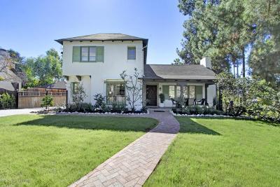 Pasadena Single Family Home For Sale: 1414 Casa Grande Street