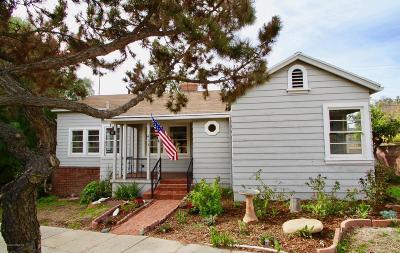 Glendale Single Family Home Active Under Contract: 415 La Loma Road