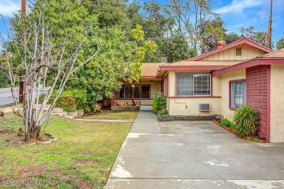 Altadena Single Family Home Active Under Contract: 319 East Mendocino Street