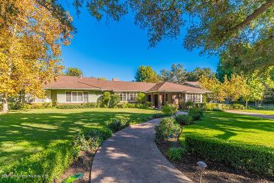 La Canada Flintridge CA Single Family Home For Sale: $5,800,000
