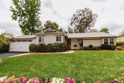 La Canada Flintridge CA Single Family Home Active Under Contract: $1,199,888