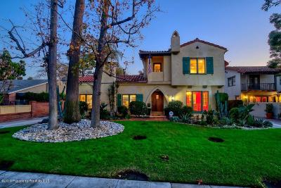 San Gabriel Single Family Home Active Under Contract: 620 West Roses Road