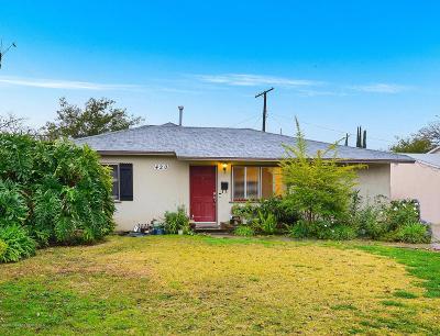 Monrovia Single Family Home Active Under Contract: 420 Maydee Street