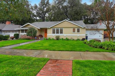 Glendale Single Family Home Active Under Contract: 3930 El Lado Drive