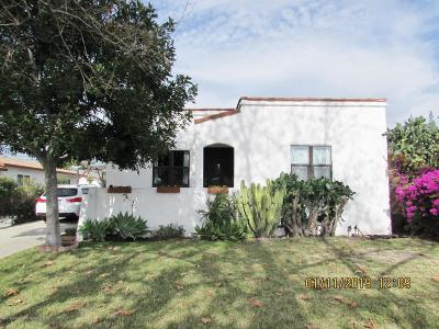 Monrovia Single Family Home Active Under Contract: 415 East Cherry Avenue