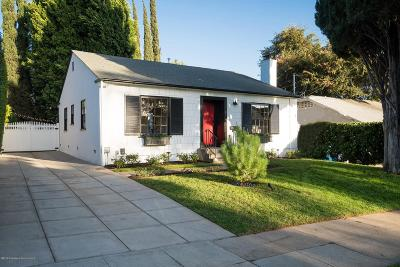 Pasadena Single Family Home Active Under Contract: 990 North Catalina Avenue