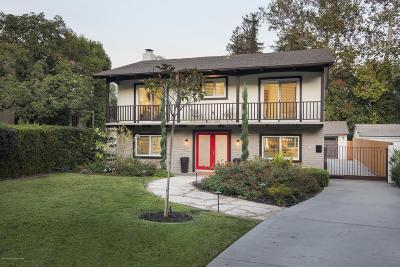 Pasadena Single Family Home For Sale: 1058 Linda Vista Avenue